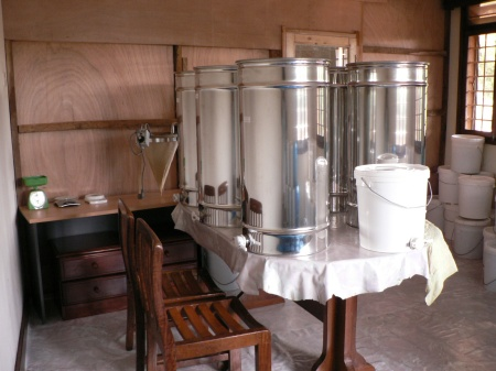 stainless steel honey tanks