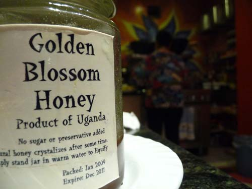 Honey from Uganda