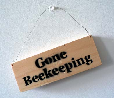 gone beekeeping
