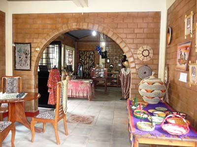 Gift shop at Otino-Waa Orphanage,